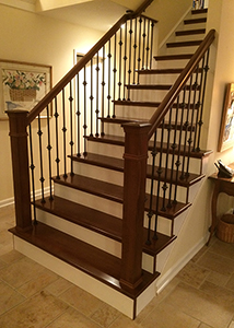 First Is The Traditional 1 Thick Solid Stair Tread And Second Replacement